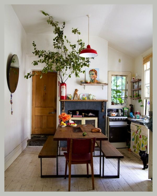 Messy Kitchen Floor: CREATIVE LIVING From A Scandinavian Perspective: Kitchen