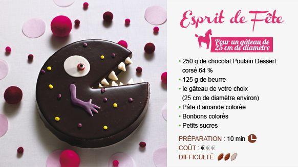 Chocolat Poulain - Recette