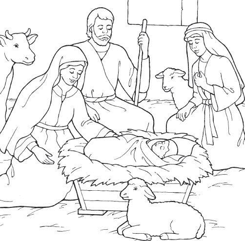 Jesus Is Born Lds Clipart Nativity Coloring Pages Jesus Coloring Pages Nativity Coloring