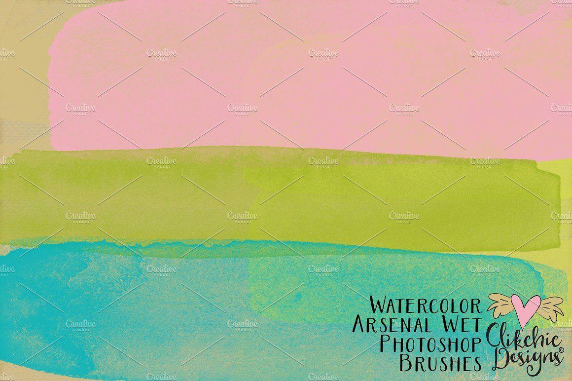 Water Color Arsenal Wet Brushes #arty#brush#Brush#childish