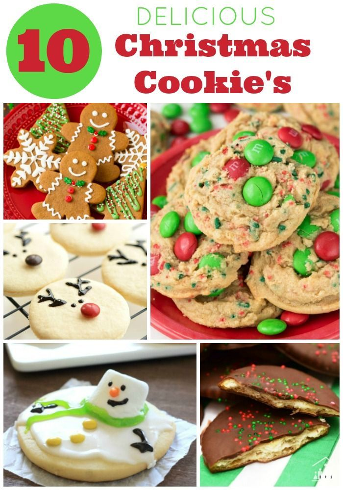 10 Delicious Christmas Cookie Recipes Things To Try Christmas