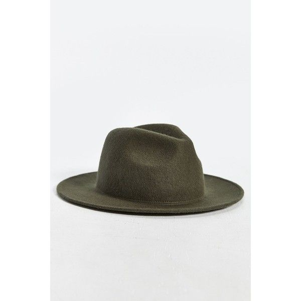 875c0592767a9 Rosin Wide Brim Felt Fedora ( 45) via Polyvore featuring men s fashion