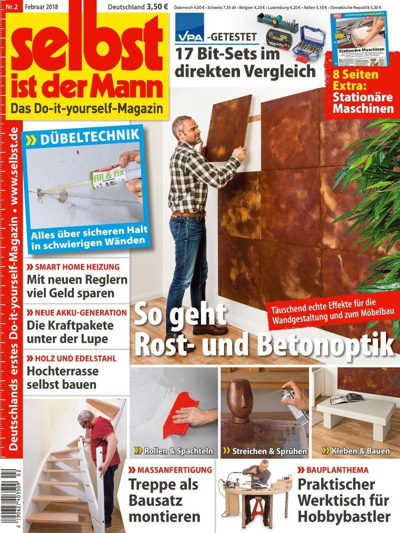 selbst ist der mann - zeitschriften / magazine im abo auf bauer-plus
