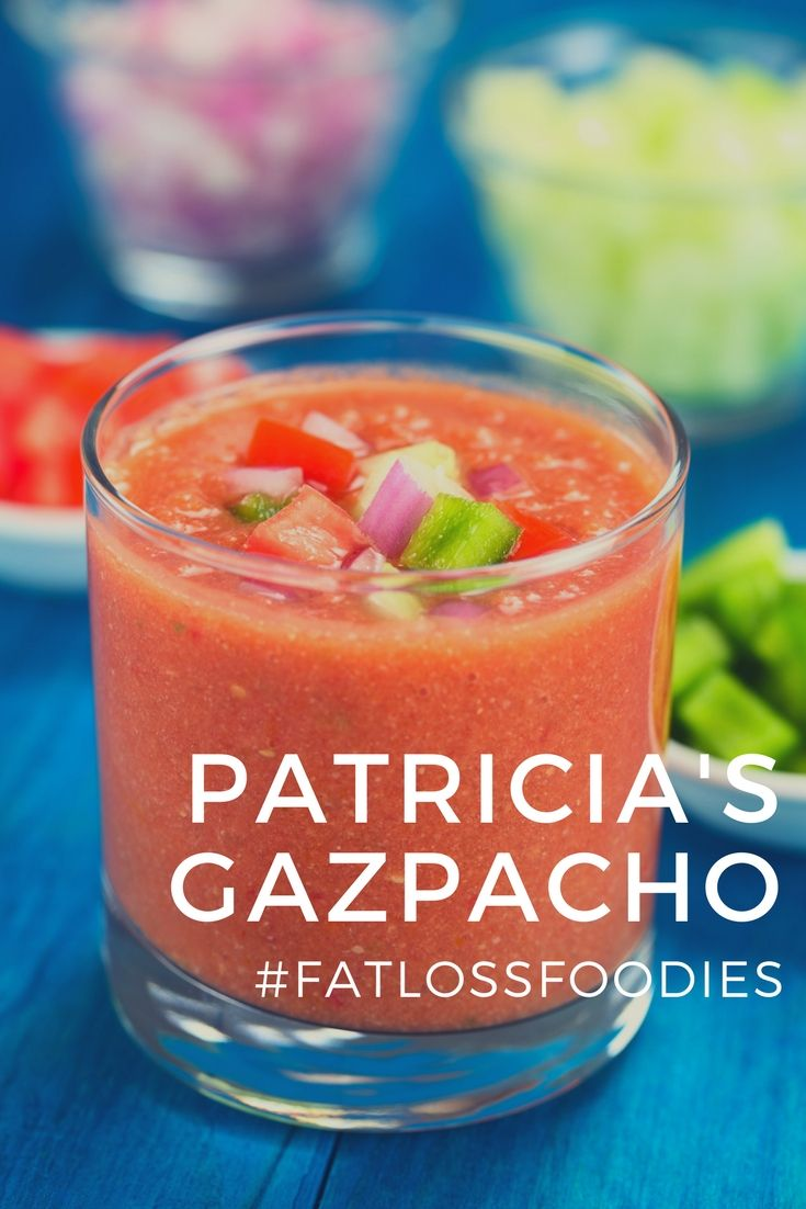 Patricia Andres Gazpacho Gazpacho Wine Ingredients Chef Recipes