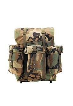 G I Type Enhanced Alice Pack With Frame Backpack Bags Military Camouflage Bags