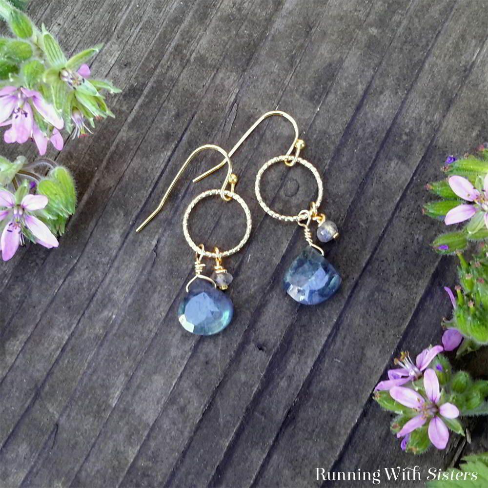 Enhara Jewels Gold Spike Lemon Green and Light Grey Cluster Statement Dangle Earrings Fashion Jewellery Gemstone Earrings