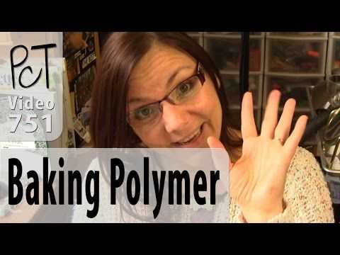 Most Common Polymer Clay Baking Questions - YouTube