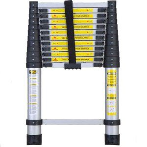 Amazon Com Xtremepower 12 Foot Telescoping Extension Ladder Ladder Rv Decor Cool Tools