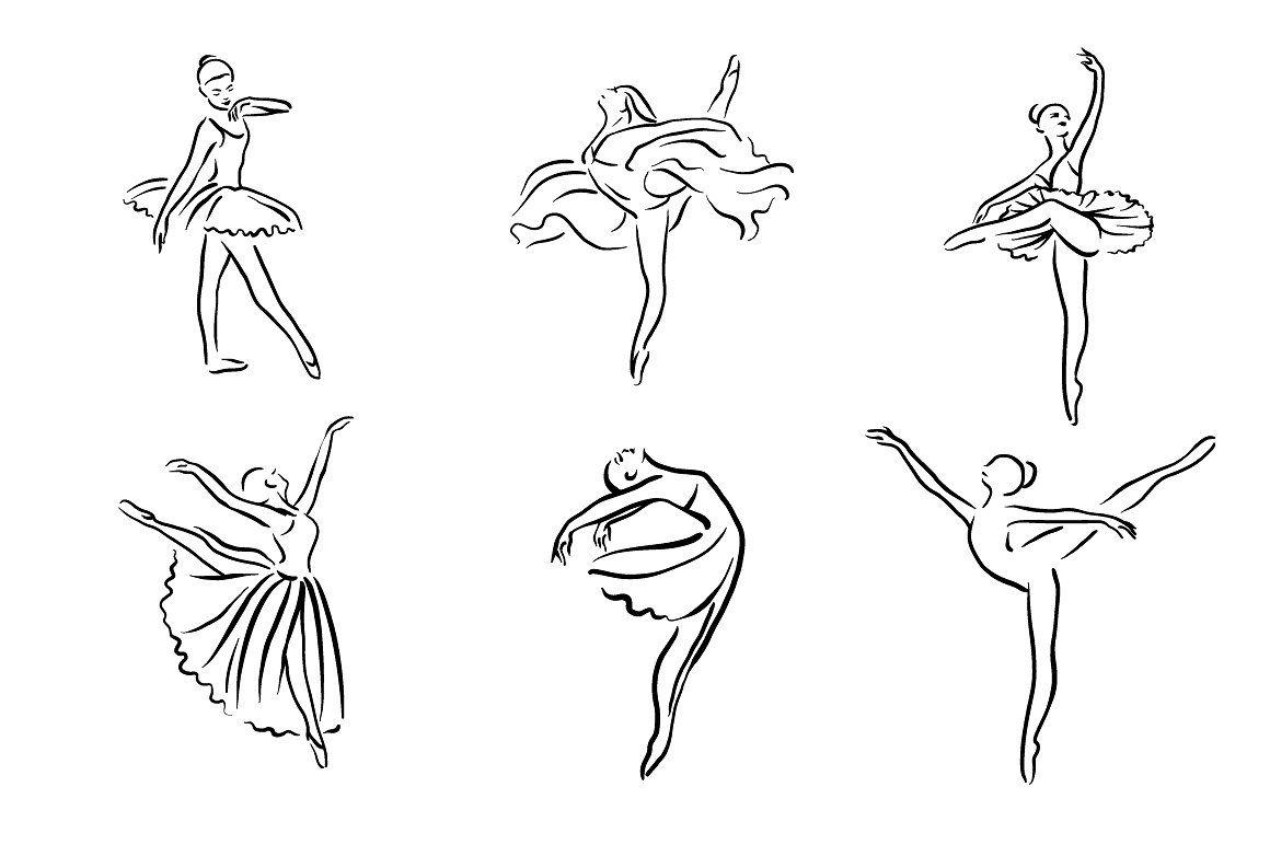 картинки тату балерин продолжая тему про