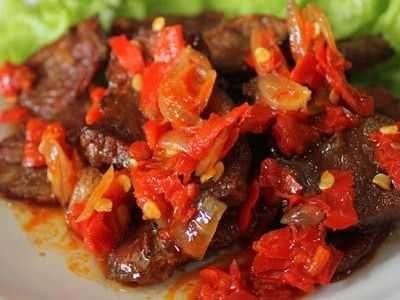 Resep Dendeng Balado Basah Batotok Padang Paling Enak Bumbu Balado Malay Food Indonesian Food Asian Recipes