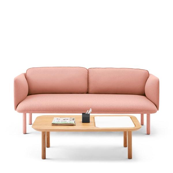 Blush Qt Lounge Low Sofa Modern