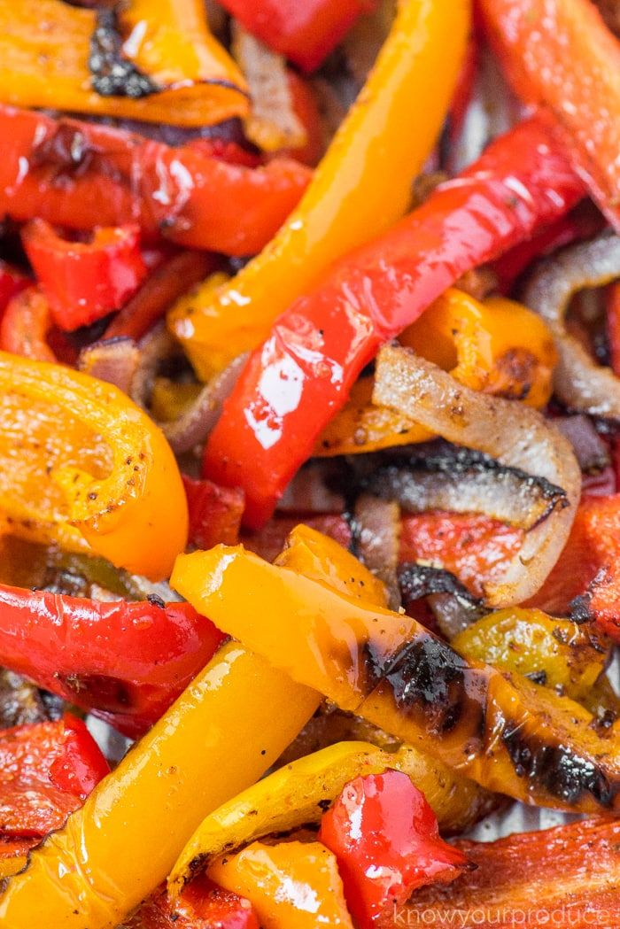 Roasted Peppers and Onions - Know Your Produce
