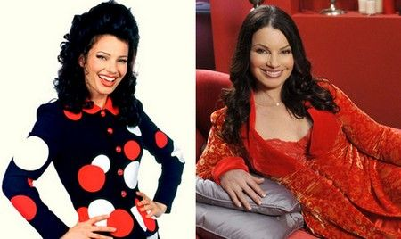 Now and Then: Fran Fine/Fran Drescher