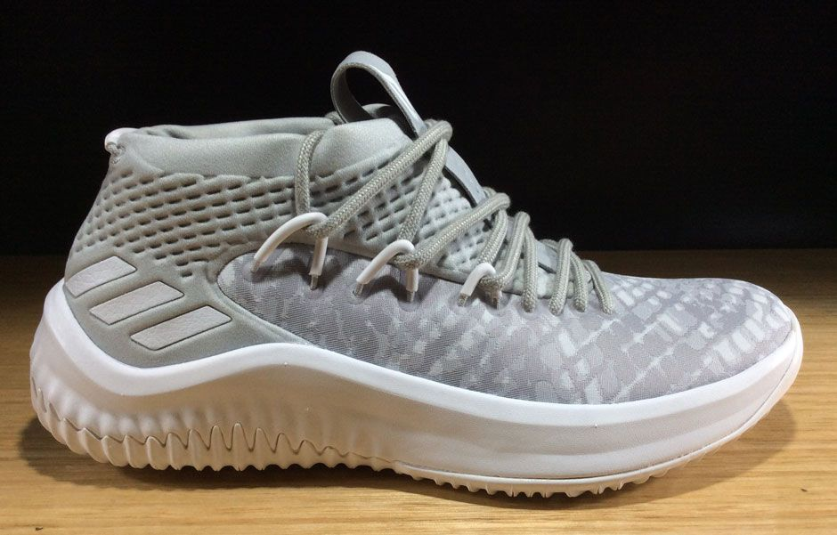 "#sneakers #news Adidas Releases New Dame 4 ""Grey Camo"" in Kids Sizes"