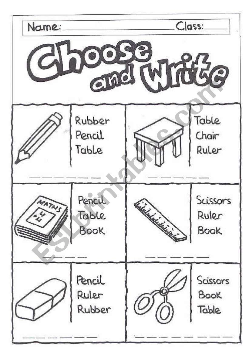 Worksheet For Reading And Writing First Children Have To Read And Choose The R English Lessons For Kids English Activities For Kids Learning English For Kids [ 1169 x 821 Pixel ]
