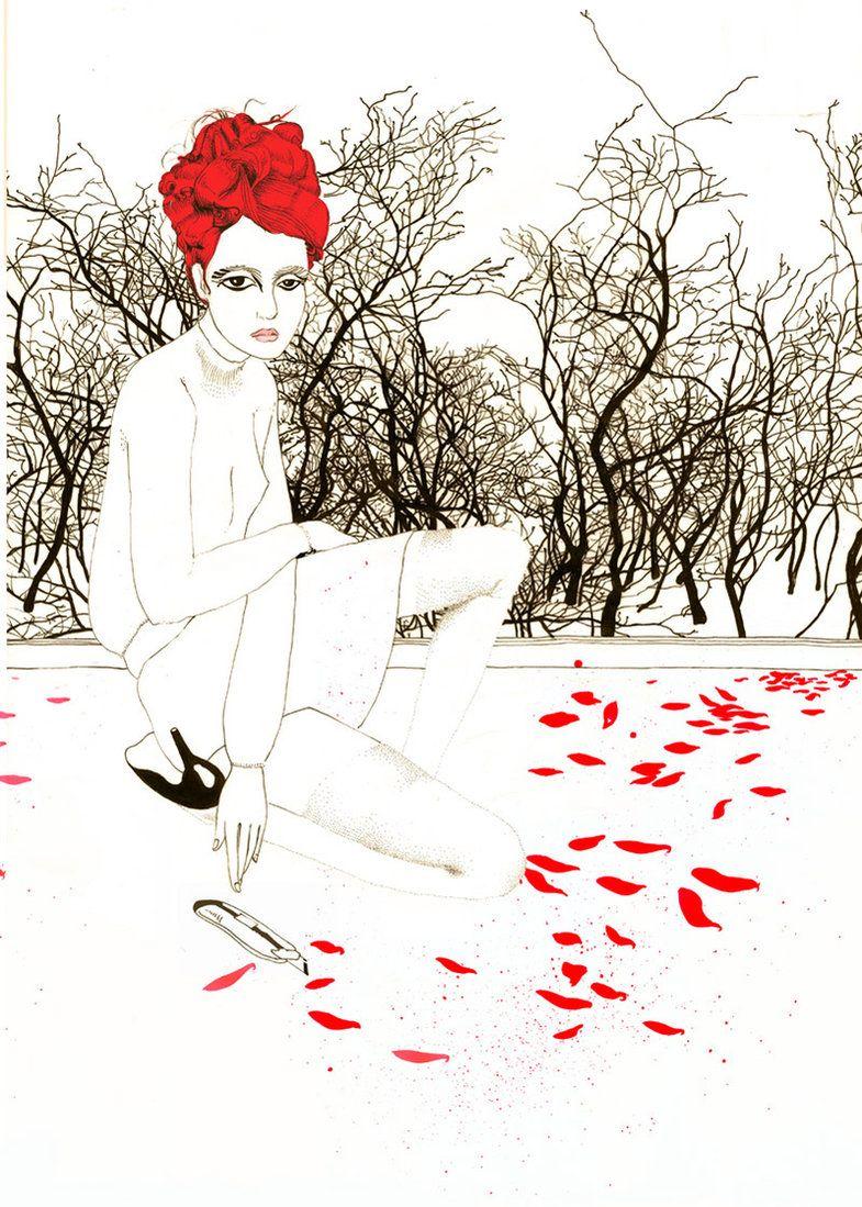 Noumeda Carbone artist and freelance illustrator