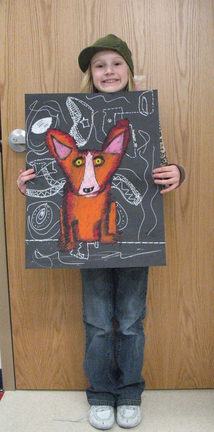 George Rodriguez blue dog lesson | WHA Art Enrichment | Pinterest ...