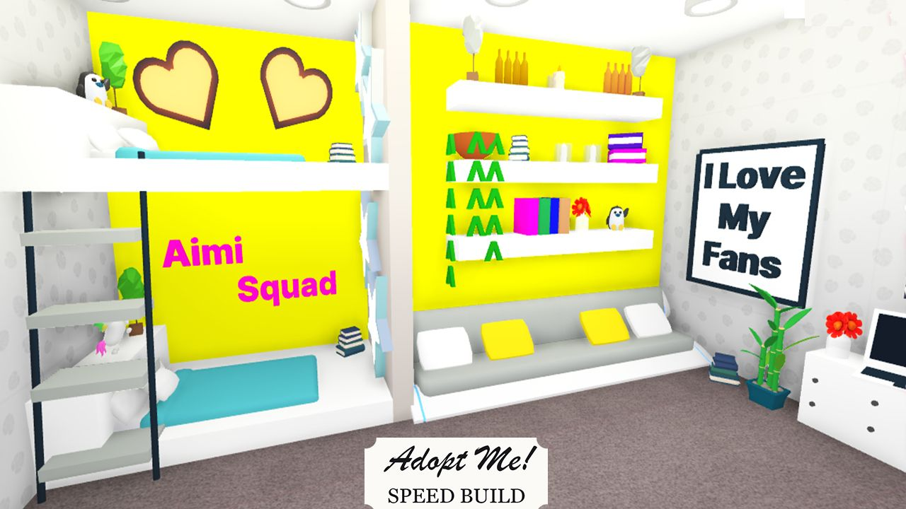 Twins Bedroom Idea Adopt Me Roblox Cute Room Ideas Twin Bedroom Simple Bedroom Design