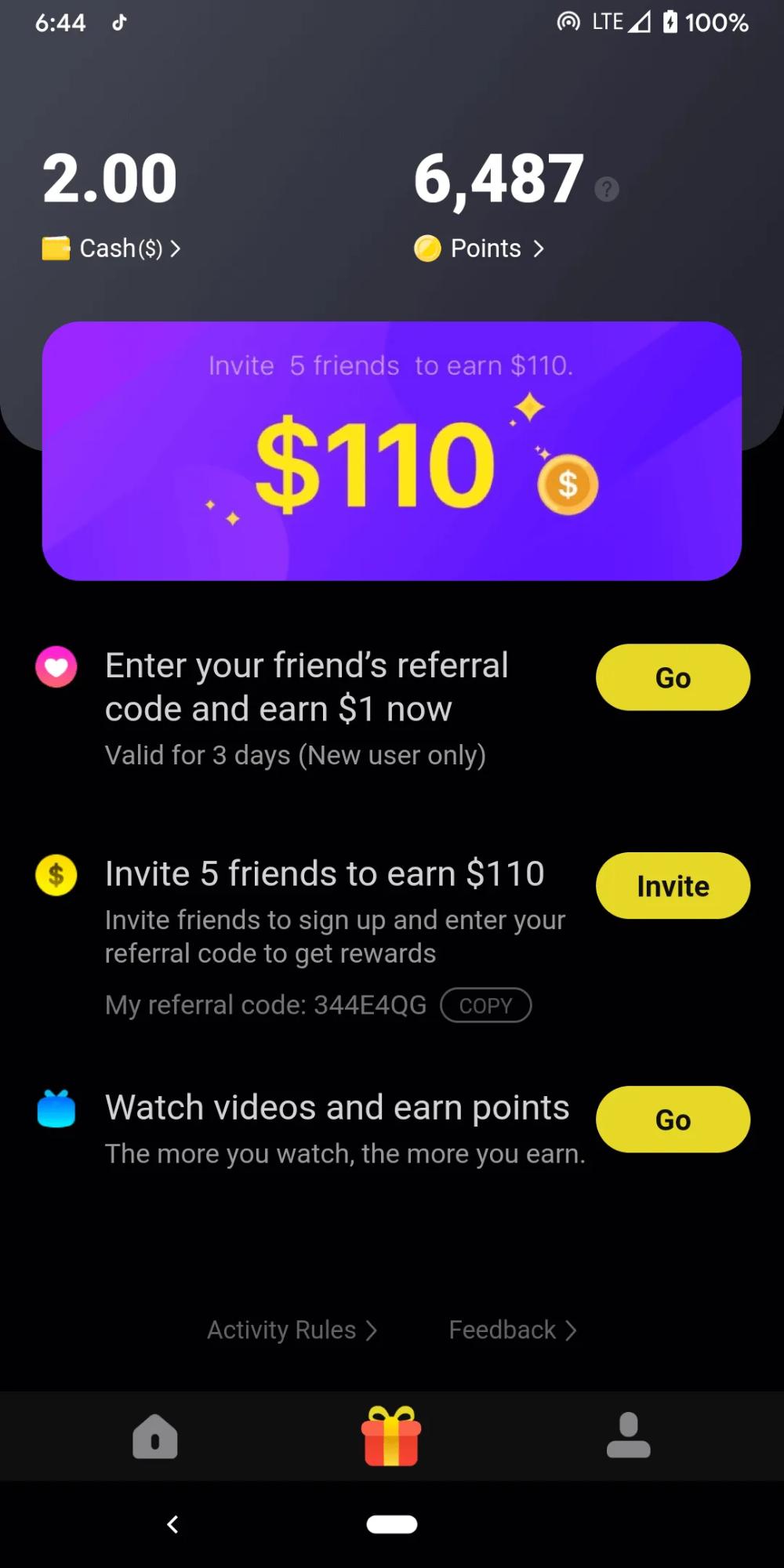 Earn Money Watching Videos On Your Phone Zynn App Review Gamer Dollars Incomeideas Entrepreneurship Friend Referral Online Marketing Training Earn Money