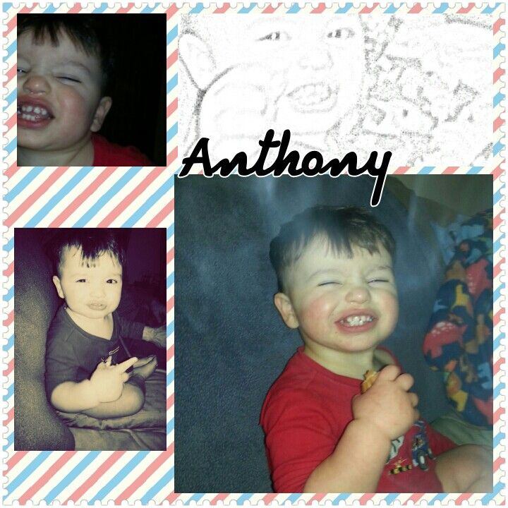 My son photo collage