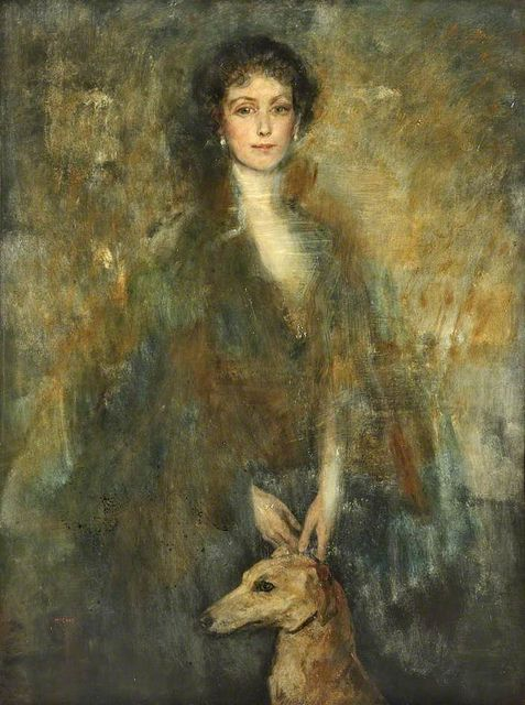 Mrs William Rathbone VIII, by Ambrose McEvoy, 1923, Oil on canvas, 123.2 x 91.7 cm, National Museums Liverpool