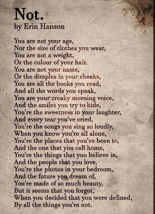 Image result for you are not your age poem