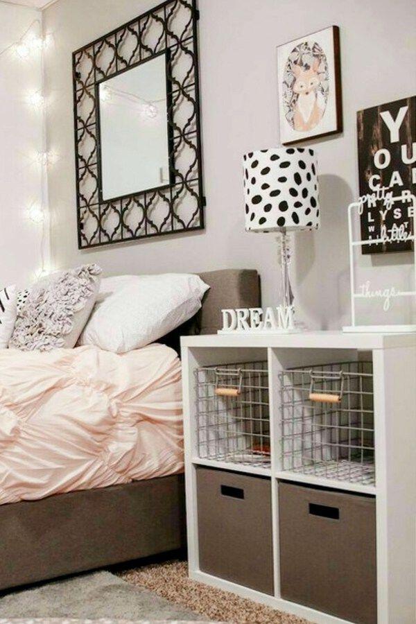 dorm room organization DIY dorm room