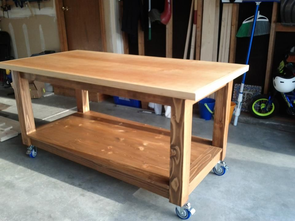 Workbench Do It Yourself Home Projects From Ana White