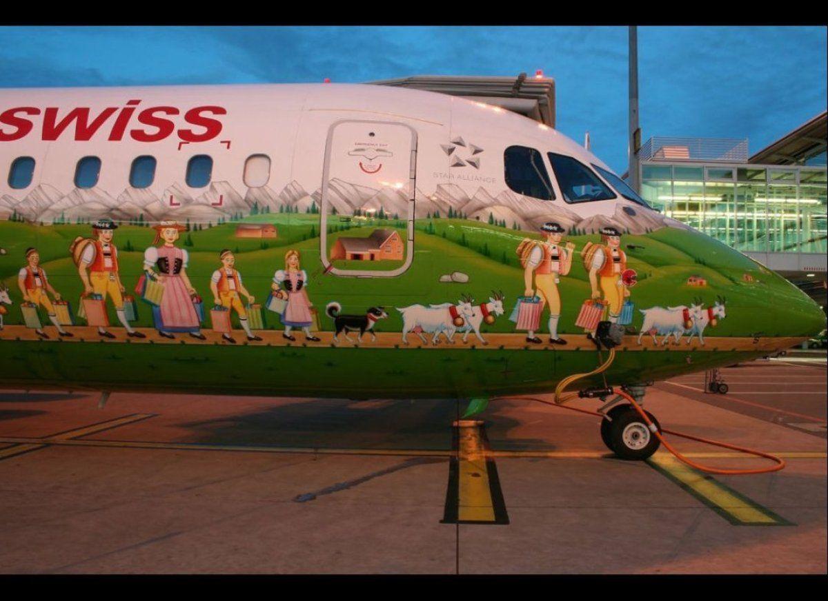 World's Most Creative Airplane Paint Jobs Best airplane