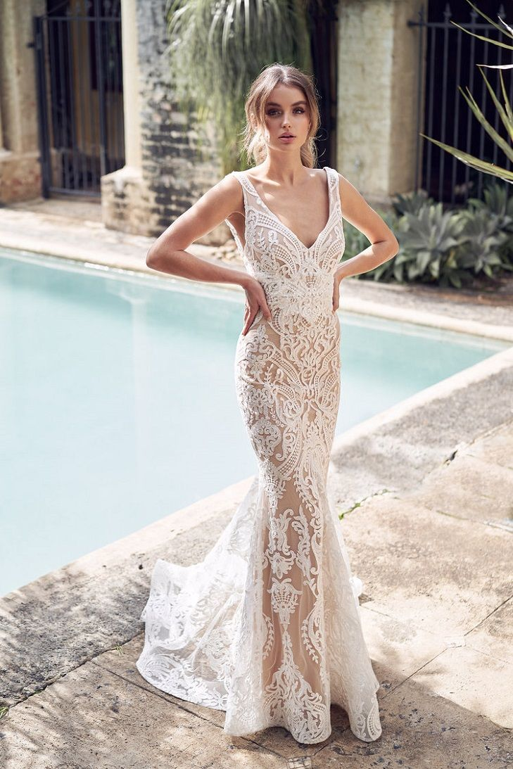 Jamie Wedding Dress by Anna Campbell Wanderlust Collection