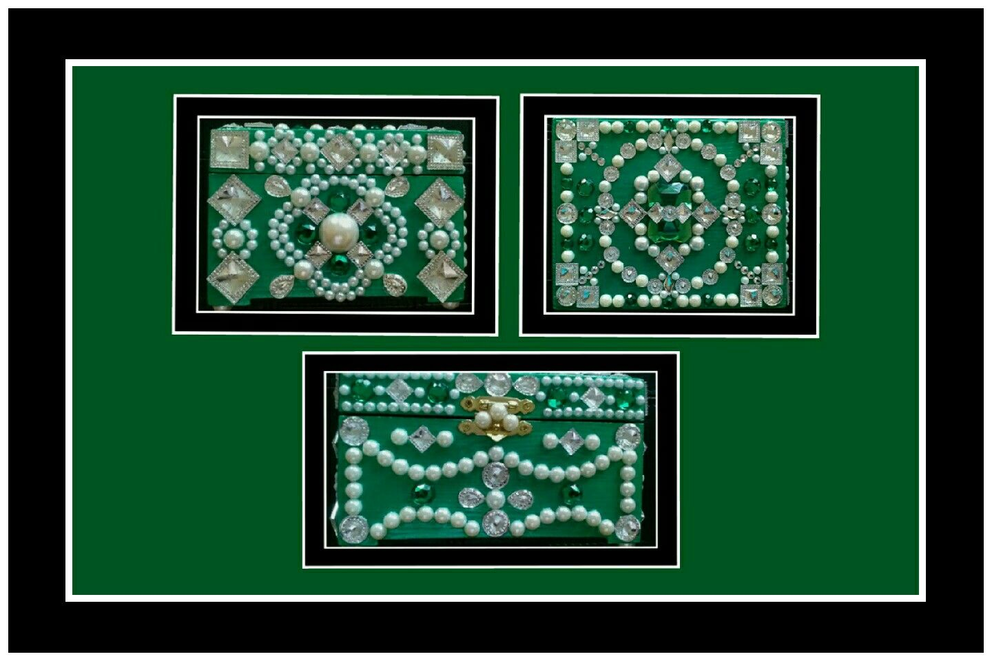 Box with 86 Crystal Embellishments