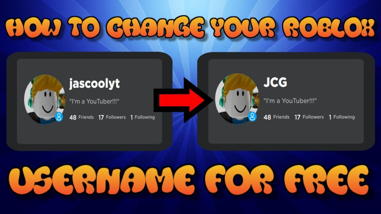 How Do You Change Your Game Picture On Roblox How To Change Your Roblox Username For Free 2020 Don T Waste Your Robu In 2020 Roblox You Changed People Laughing
