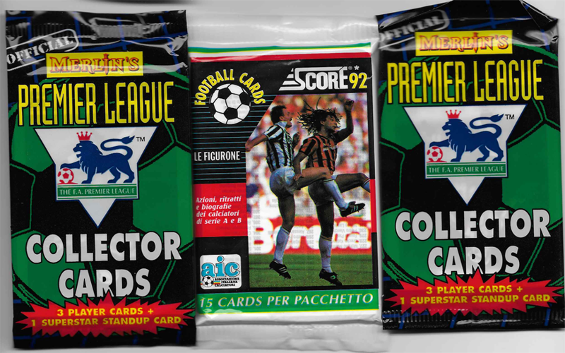3 Unopened Packs Of Soccer Football Cards Football Cards Sports Cards Cards