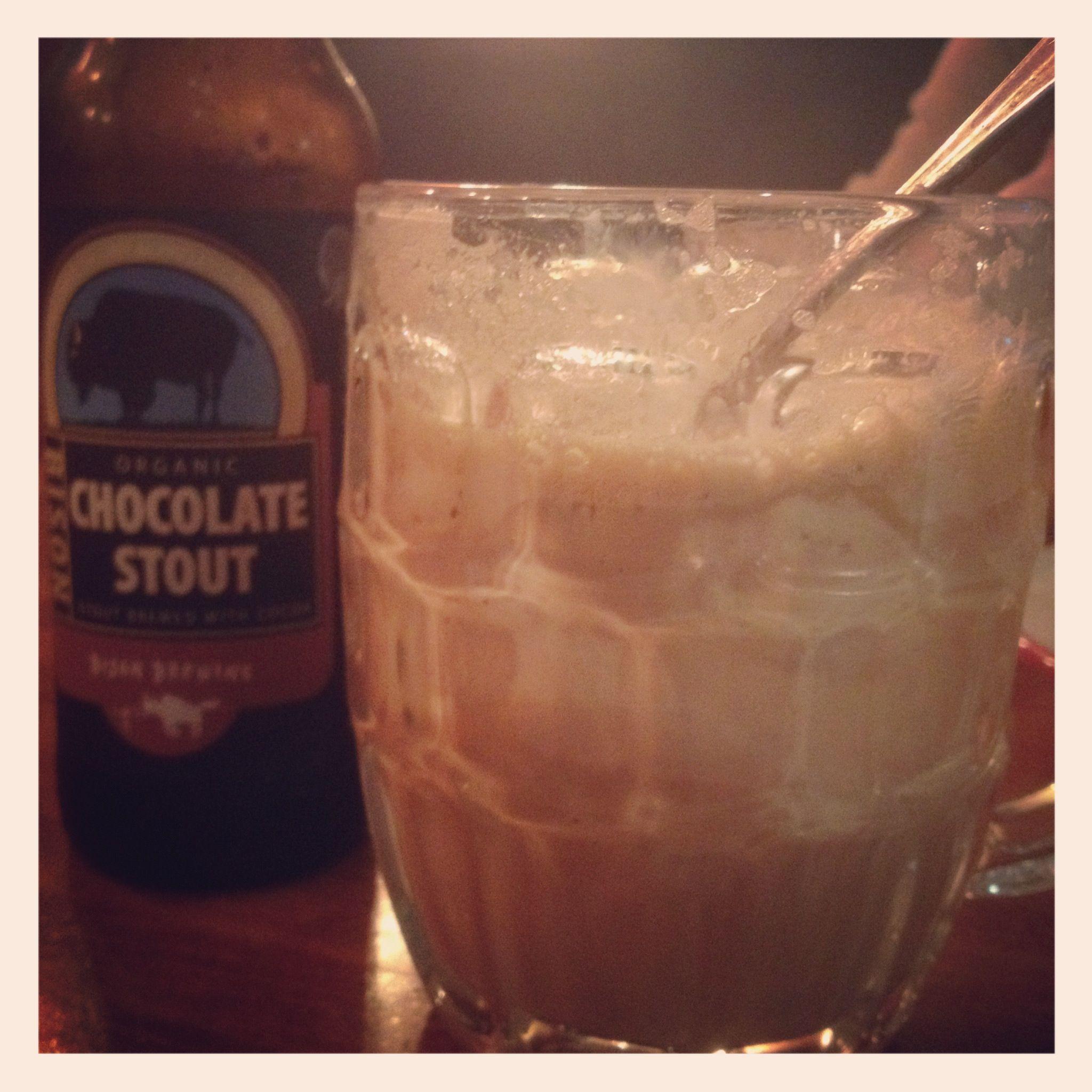 Chocolate Stout Float w/ 3 Twins Vanilla Ice Cream at