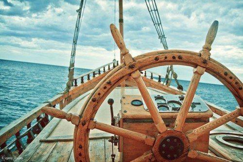 calm moment at sea
