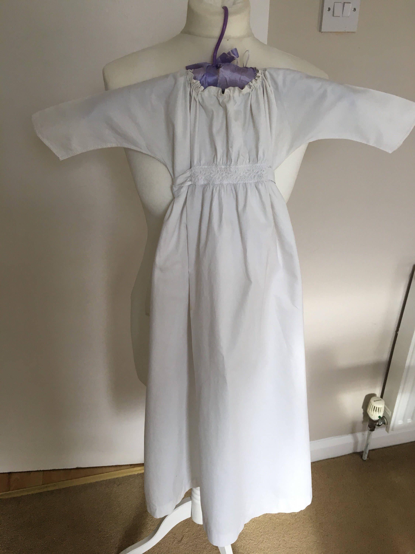 Victorian baby gown - antique baby nightdress - victorian white ...