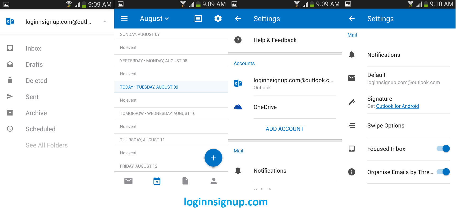 Report your problems in Hotmail Login Check Hotmail