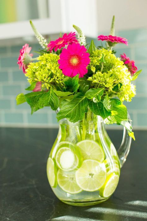 11 Simple and Stylish DIY Floral Centerpieces | Pinterest | Rodajas ...