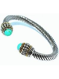 Bracelete Cuff Turquesa