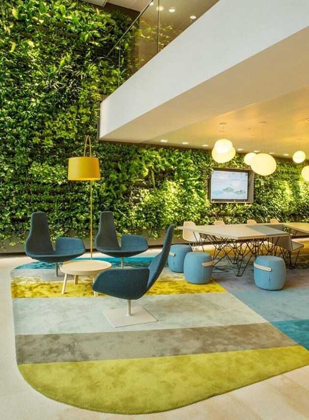 Mur Vegetal Office Interior Design Interior Design Interior