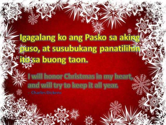 Christmas Quote: I will honor Christmas in my heart, and will try ...