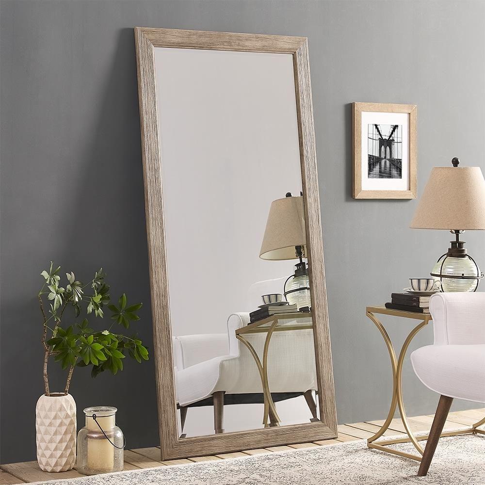 Naomi Home Rustic Floor Mirror Rustic Floor Mirrors Floor Mirror Rustic Flooring