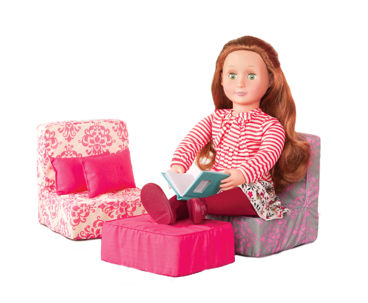 Living Room Sofa Set | Our Generation Dolls | American Girl Dolls ...