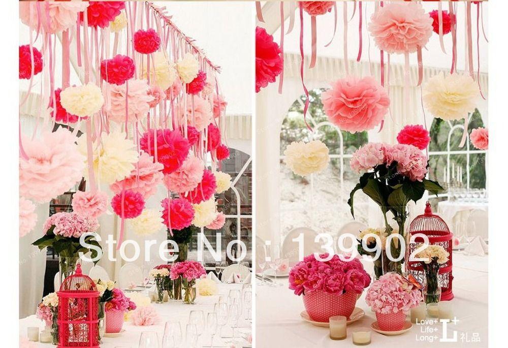 4 10cm 20pcs tissue paper pom poms flower balls wedding party 4 10cm 20pcs tissue paper pom poms flower balls wedding party shower decoration diy pom mightylinksfo