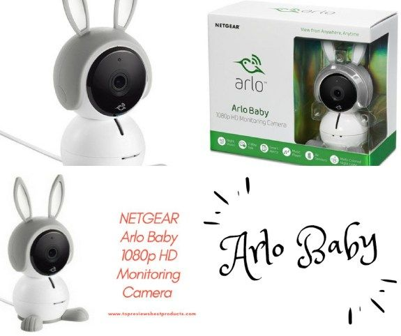 NETGEAR Arlo Baby 1080p HD Monitoring Camera Works with