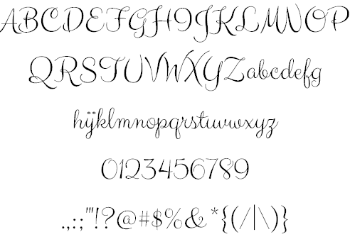 Clicker Script Font by Astigmatic One Eye Typographic