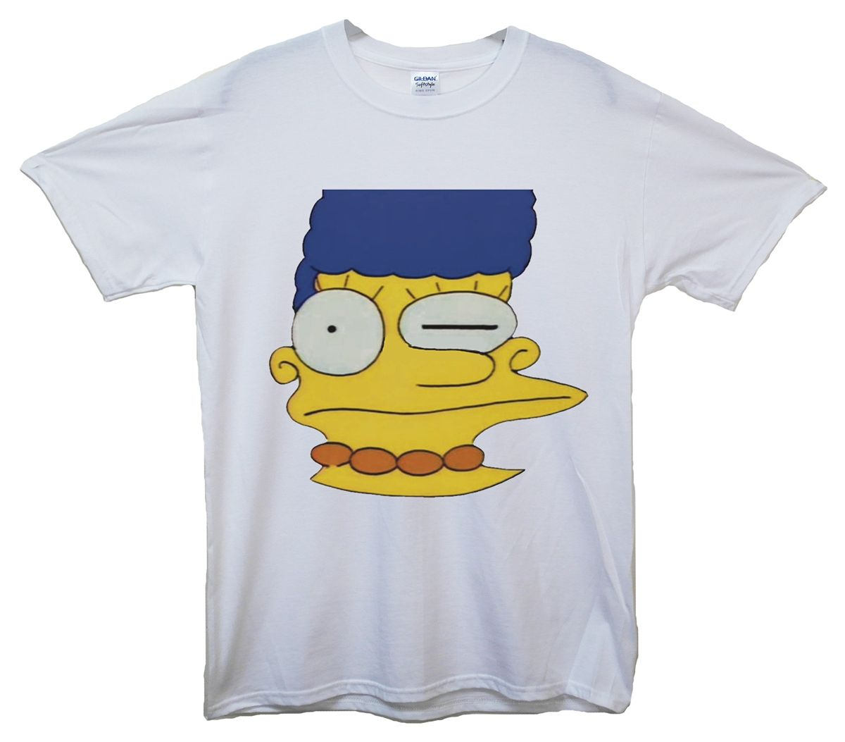 0836fb40e61 Misprinted Marge Simpson T-Shirt