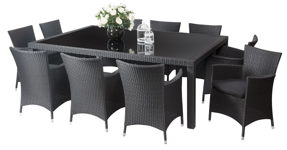 Manila 10 Seater outdoor dining furniture outdoor dining