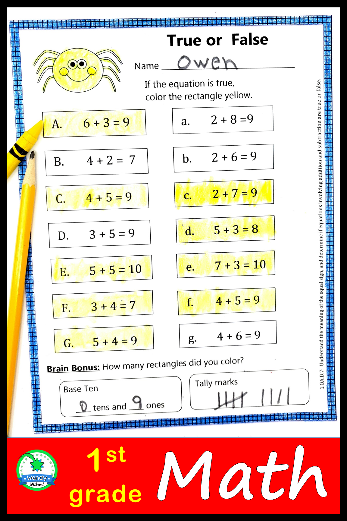 Halloween Math Worksheets For First Grade