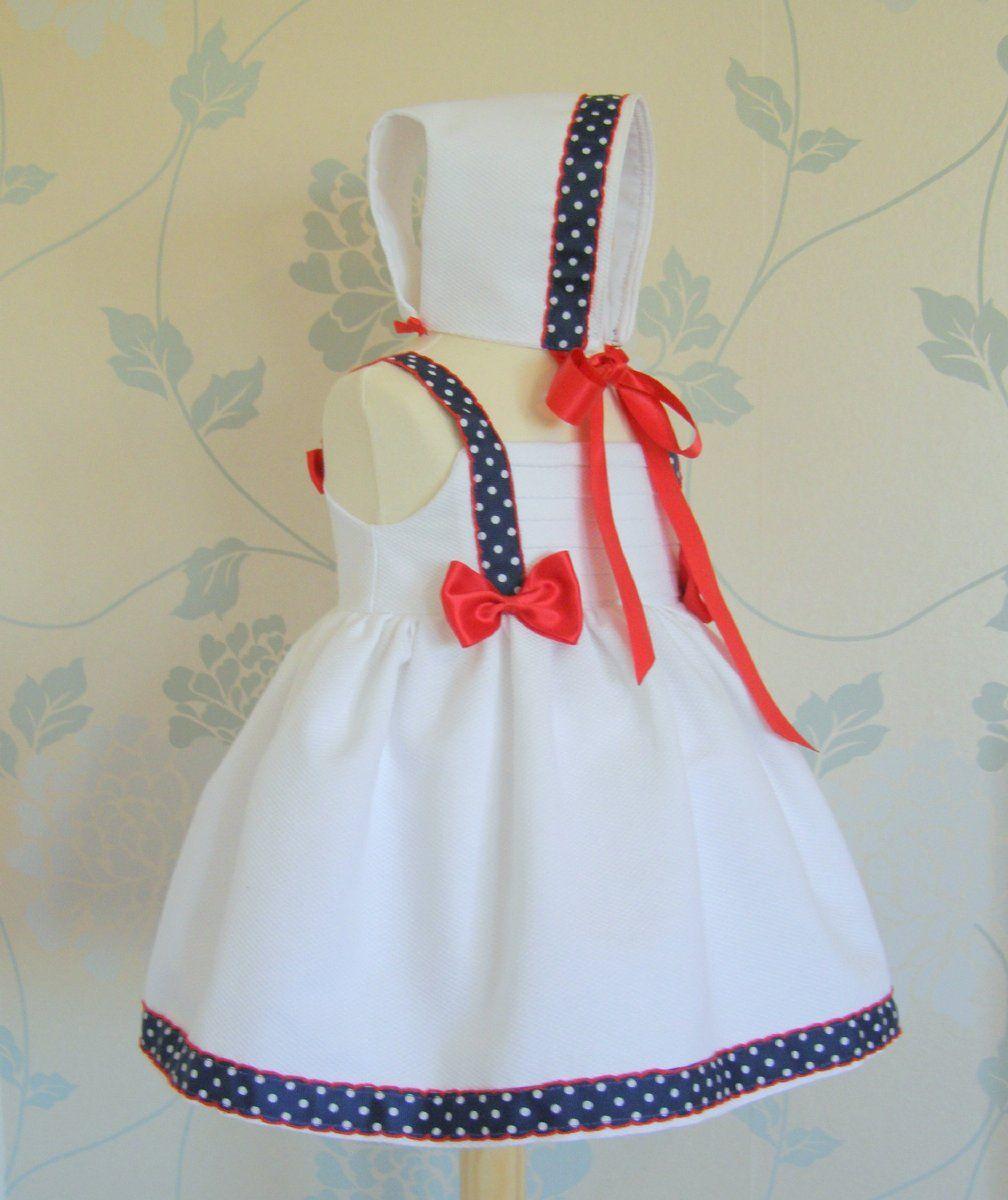 vestidomarinero niña   Vestido Marinero María
